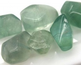 CHINESE JADE STONE DRILLED (6PCS) 155 CTS  ADG-143