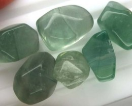 CHINESE JADE STONE DRILLED (6PC) 172.05 CTS ADG-144