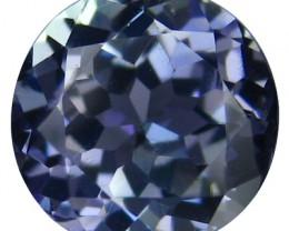 1.85 Cts AWESOME ULTRA RARE NATURAL LIGHT-BLUE TANZANITE NR