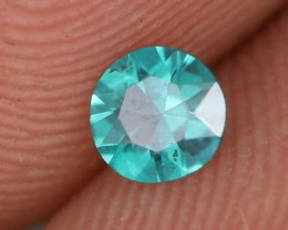 0.26 CTS EMERALD GREEN - SURFACE TREATED TOPAZ (TPZ52)
