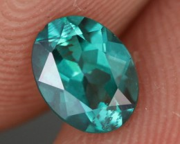 0.84 CTS EMERALD GREEN - SURFACE TREATED TOPAZ (TPZ53)