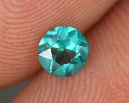 0.33 CTS EMERALD GREEN - SURFACE TREATED TOPAZ (TPZ55)