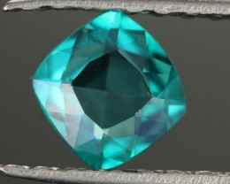 0.56 CTS EMERALD GREEN - SURFACE TREATED TOPAZ (TPZ58)