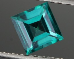 0.73 CTS EMERALD GREEN - SURFACE TREATED TOPAZ (TPZ63)