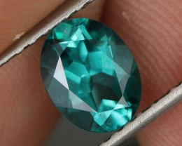 1.52 CTS EMERALD GREEN - SURFACE TREATED TOPAZ (TPZ67)