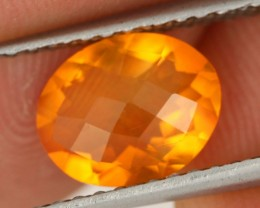 1.33 CTS FIRE ORANGE MEXICAN FIRE OPAL [ST8415]
