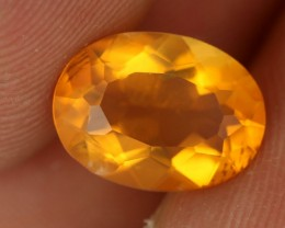 1.85 CTS FIRE ORANGE MEXICAN FIRE OPAL [ST8424]