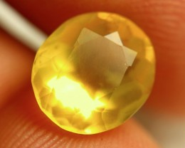 2.90 Carat Lovely Yellow Mexican Fire Opal - Gorgeous