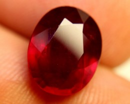 7.85 Carat VS Ruby - Fiery and Beautiful Pigeon Blood Gem