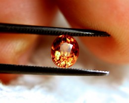 1.25 Carat VVS1 Flashy Orange African Spessartite Garnet