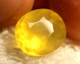 4.90 Carat Lemon Yellow Mexico Fire Opal - Gorgeous