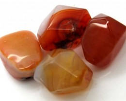 CARNELIAN BEAD DRILLED AMAZING PATTERN   84  CTS ADG-278