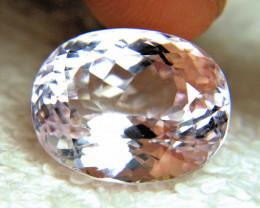 23.88 Ct. Light Pink VVS1 Himalayan Kunzite - Superb Gem