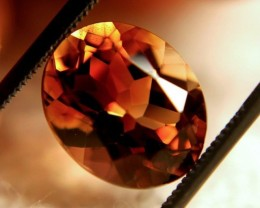 5.98 Carat VVS Golden Brazilian Topaz - Superb