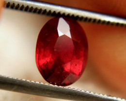 2.10 Carat VS2 Ruby - Fiery and Beautiful