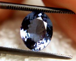 2.66 Carat VVS1 African Blue Tanzanite - Beautiful