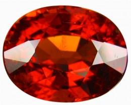 3.25 Cts EXQUISITE NATURAL UNHEATED ORANGE RED SPESSARTITE
