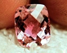 3.94 Carat Pink Checkerboard Tourmaline - Gorgeous
