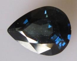 3.92cts Natural Australian Sapphire Pear Cut