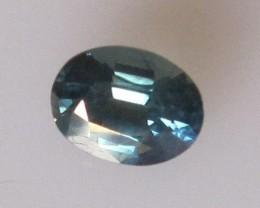 0.66cts Natural Blue Australian Sapphire Oval Cut