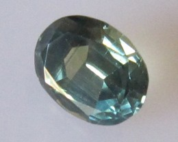 1.60cts Natural Parti Colour Australian Sapphire Oval Cut
