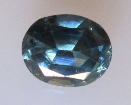 1.89cts Natural Parti Colour Australian Sapphire Oval Cut