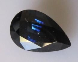 5.55cts Natural Blue Australian Sapphire Pear Cut