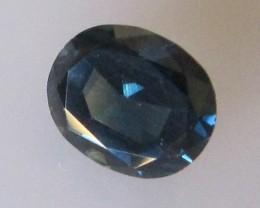1.57cts Natural Australian Blue Sapphire Oval Cut