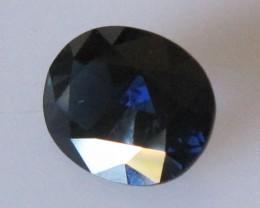 2.04cts Natural Australian Blue Sapphire Oval Cut