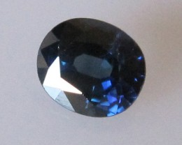 0.75cts Natural Australian Blue Sapphire Oval Cut