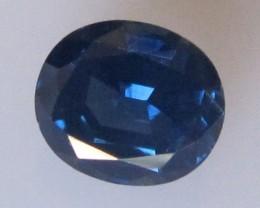 2.27cts Natural Australian Blue Sapphire Oval Cut