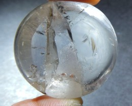 74 Cts RARE Quartz polished with Inclusion HS 78
