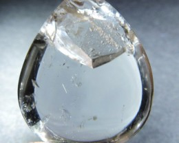 75 Cts RARE Quartz polished with Inclusion HS79