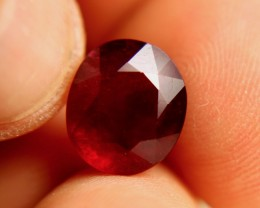 7.25 Carat VS Ruby - Fiery Beauty