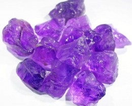111.5  CTS AMETHYST ROUGH PARCEL FROM NAMBIA-CLEAN!  [F5134]