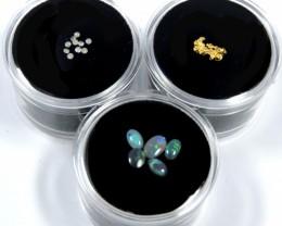 AUSTRALIAN TREASURES GOLD OPAL & DIAMONDS SERIES  ATC 15-500