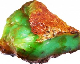 363.3 CTS CHRYSOPRASE ROUGH WEST AUSTRALIA[Fla314]