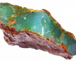 168.5 CTS CHRYSOPRASE ROUGH WEST AUSTRALIA[FLA350 ]
