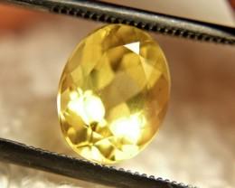 2.4 Carat VS2 Vibrant Golden Beryl - Lovely