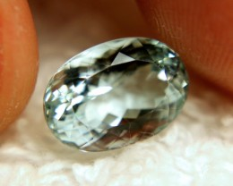 4.51 Carat IF/VVS1 Vibrant Blue Aquamarine - Superb