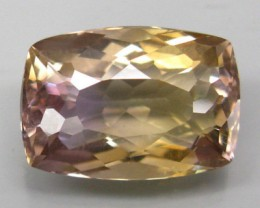 BEAUTIFUL AND CLEAN NATURAL AMETRINE BOLIVIA 7,44CTS