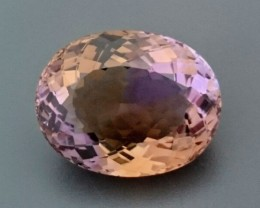 CERT 35.08ct Natural AMETRINE Gemstone