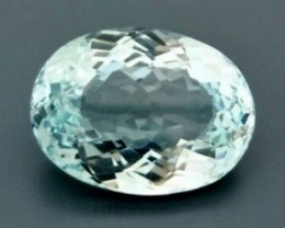 CERT 42.16ct Light Blue TOPAZ