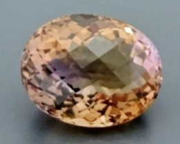 CERT 34.98ct Natural AMETRINE Gemstone