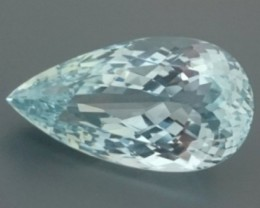 CERT 29.37ct Light Blue TOPAZ