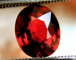 2.77 Carat Red / Orange VVS Spessartite Garnet - Gorgeous