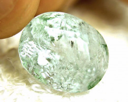 17.36 Carat Included Blue Green Aquamarine - Beautiful