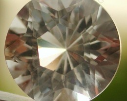 7.00ct VVS FACETED BRAZILIAN WHITE QUARTZ GEM CUT IN THE U.S
