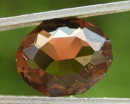 4.60ct WONDERFUL FACETED BRAZILIAN SMOKEY QUATRZ GEM CUT IN THE U.S