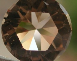 7.25ct WONDERFUL FACETED BRAZILIAN SMOKEY QUARTZ GEM CUT IN THE U.S